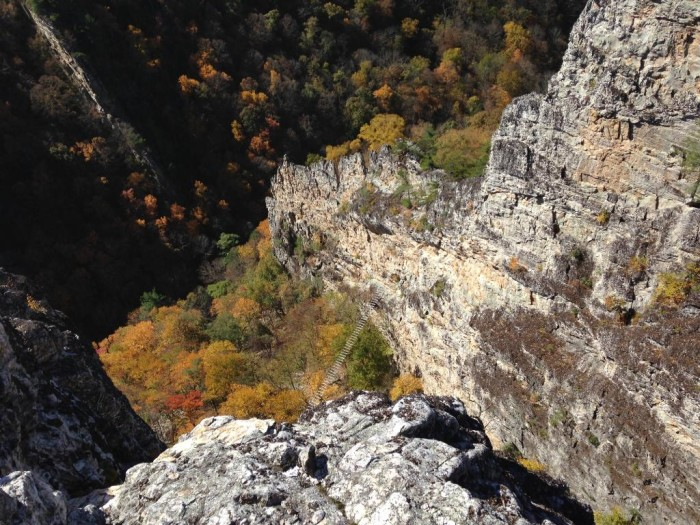 Via Ferrata is open year round, weather permitting. It attracts thousands of climbers each year.