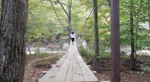This Terrifying Swinging Bridge In Arkansas Will Make Your Stomach Drop