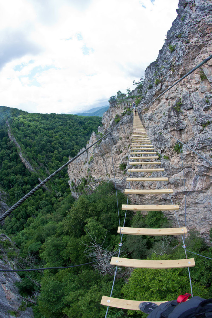 West Virginia Travel Places Images This Footbridge In Will Terrify You Jpg