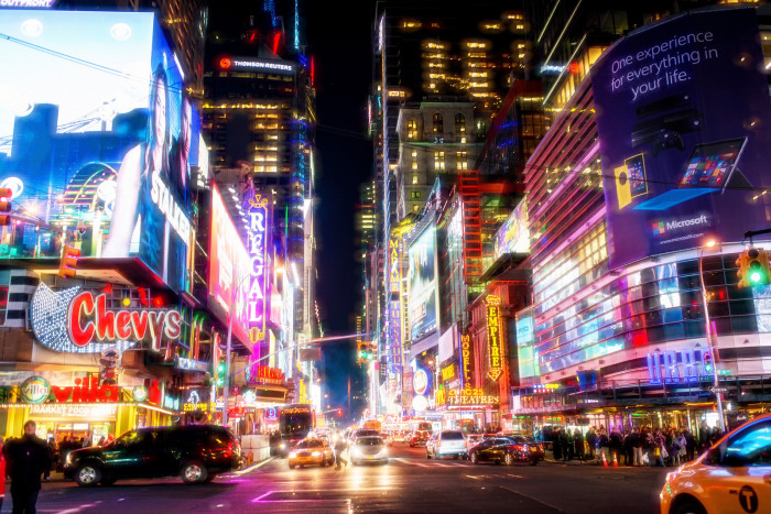 5. Or, take it up a notch and head to Manhattan - the city that seemingly never sleeps.