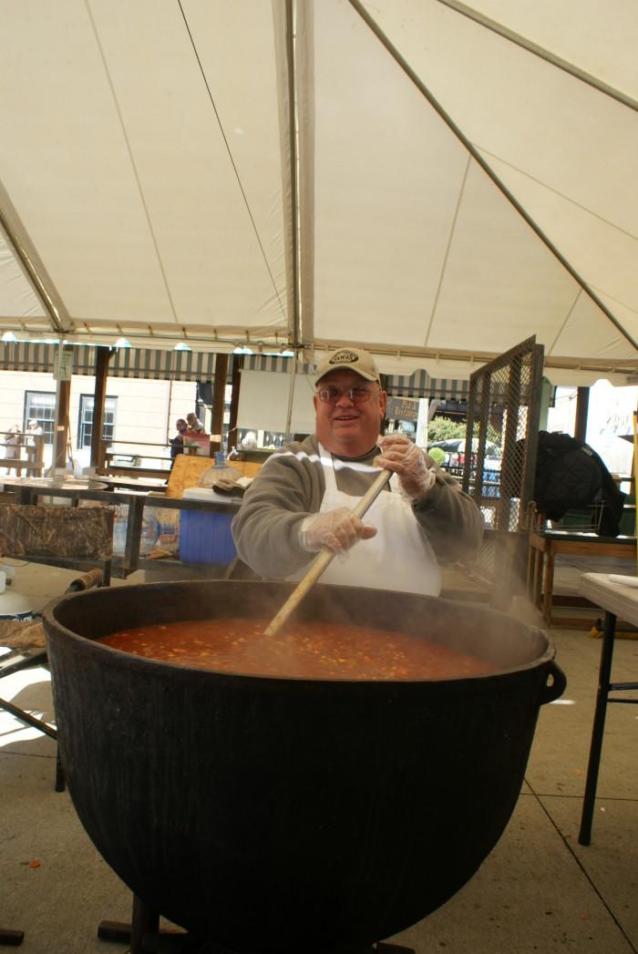 3. Hearty Brunswick Stew