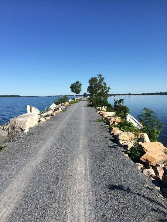Burlington bike path.