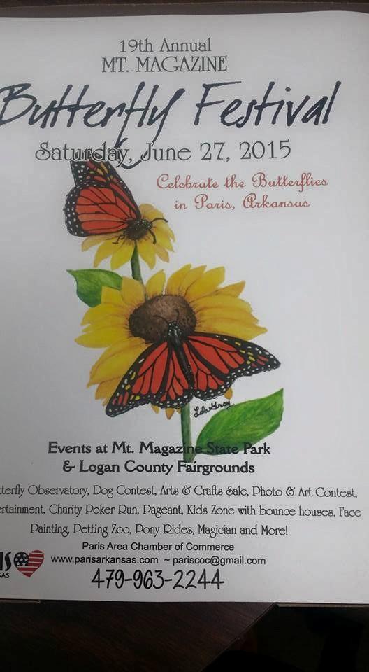 6. Mount Magazine Butterfly Festival