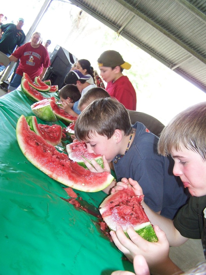 11. Celebrate summer's amazing fruit at the Beauregard Watermelon Festival.