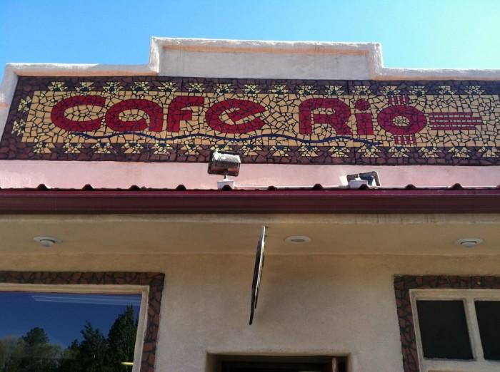 8. Cafe Rio, Ruidoso