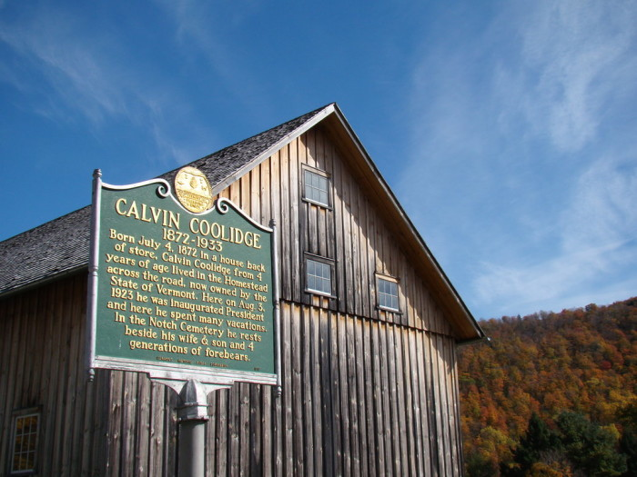 18.  President Calvin Coolidge State Historic Site, Plymouth