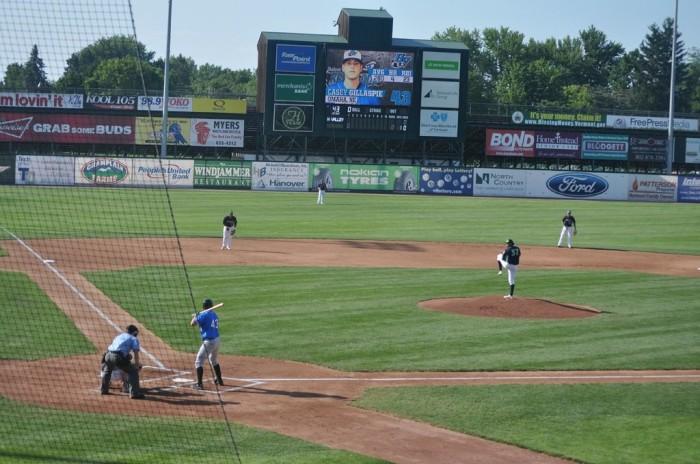 Centennial Field.