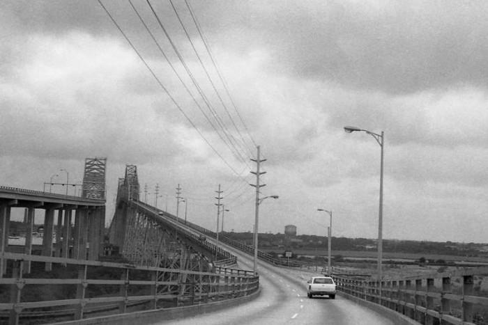 1. Charleston - The Cooper River Bridge(s) in 1974.