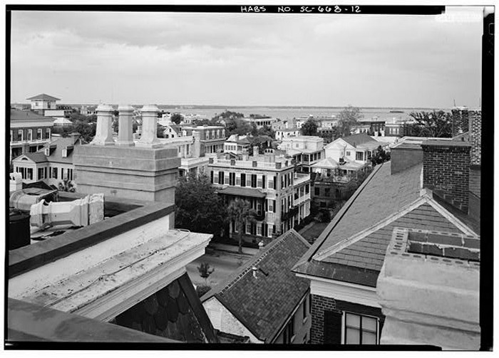 5. Charleston - A rooftop vantage point from 1963.