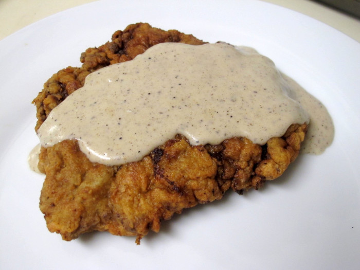 12. Chicken Fried Steak...