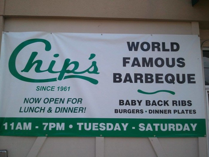 6. Chip's Barbecue