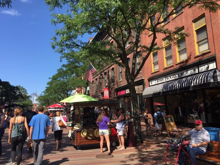Church Street Marketplace.