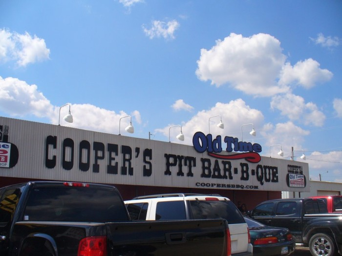 1. Cooper's Old Time Pit BBQ (Llano)