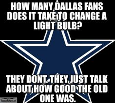"""6. ...or are decked out in Cowboys gear in an attempt to """"fit in""""."""