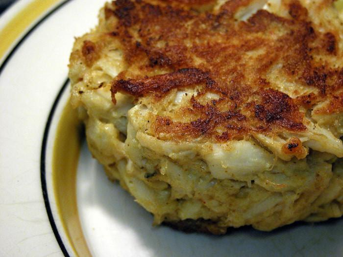 7. Crab Cakes.