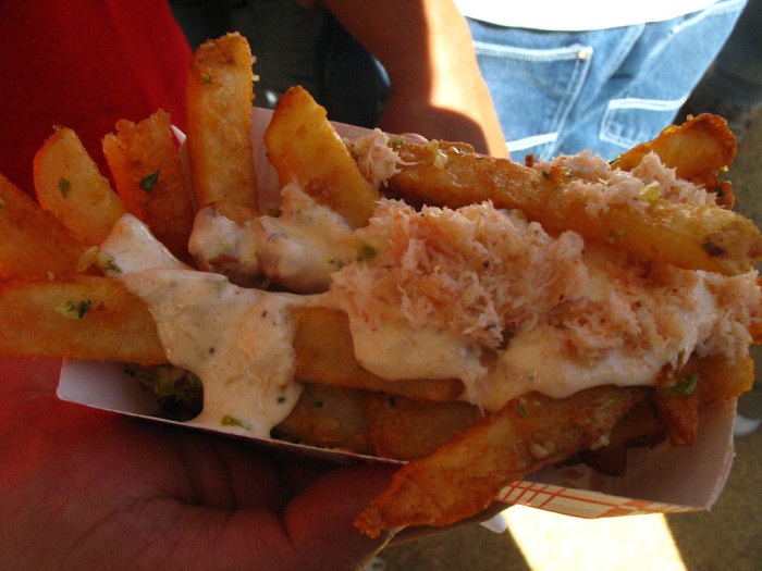 11. Crab Fries