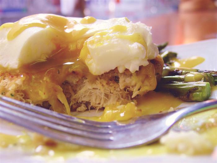 9. Crab Cake Benedict