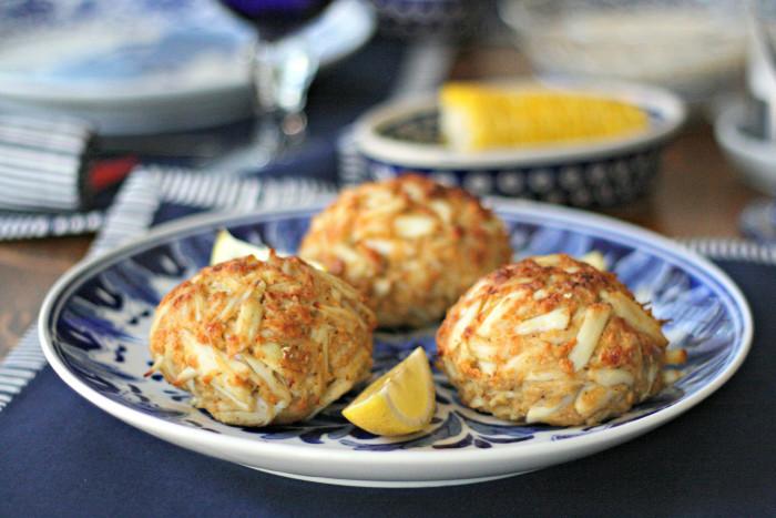 2. Crab cakes