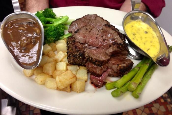 3) T-Bone Steak from Crescent City Steakhouse