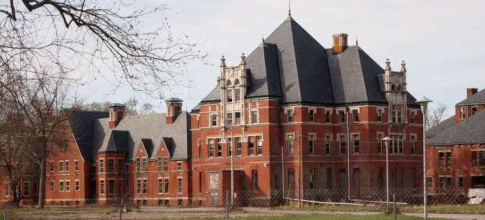 9. Norwich State Hospital for the Insane in Norwich, Connecticut