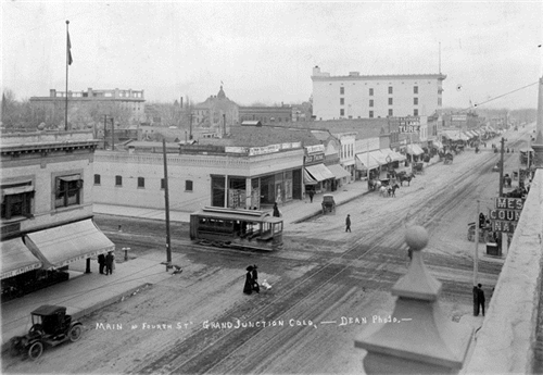 17. Main and Fourth St., Grand Junction