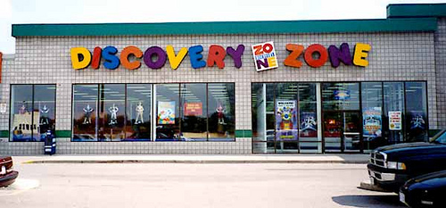 7. Birthday parties at Discovery Zone