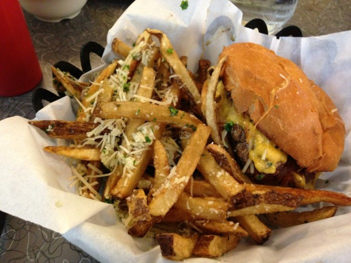 5. Burgers from The Burger Dive