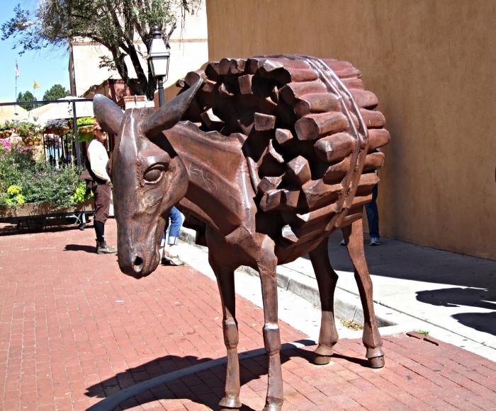 donkey sculpture