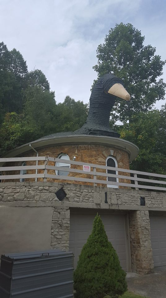 The Mother Goose House is not just known as a unique house in Kentucky.