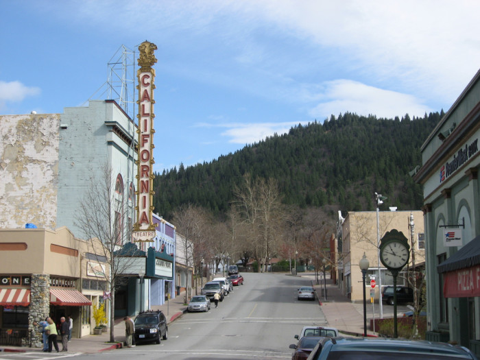 Charming Small Towns In Northern California - Us quaint towns map