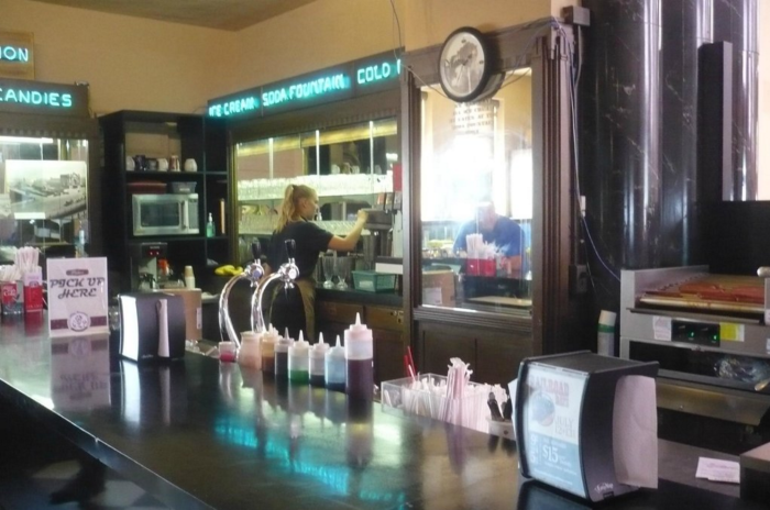 7. The Soda Fountain and Candy Shop at the Durham Museum, Omaha