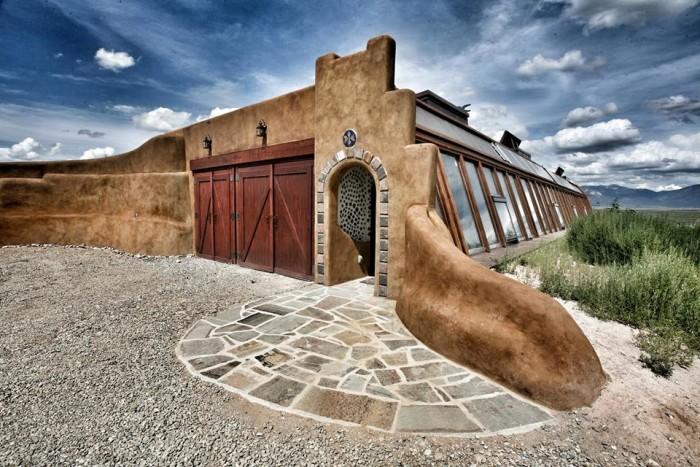 2. Taos Earthships, 1 Earthship Way, Tres Piedras
