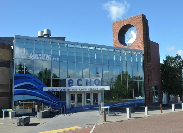 ECHO Leahy Center for Lake Champlain.