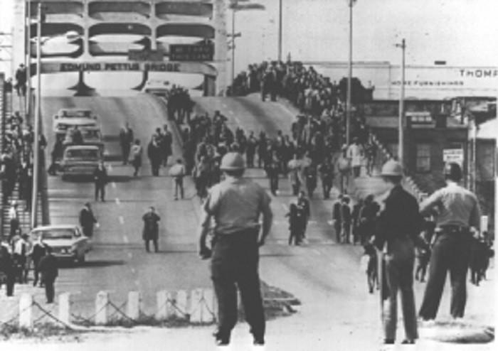 9. Edmund Pettus Bridge, Selma, 1965