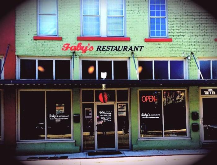 13. Faby's Restaurant