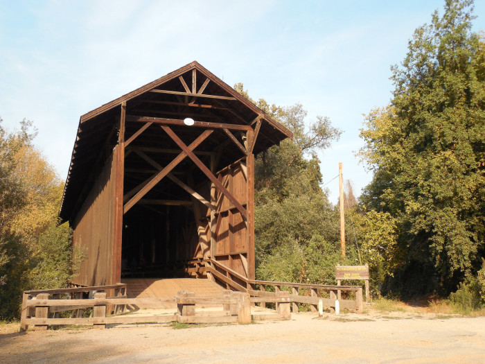 2. Felton Covered Bridge - Felton