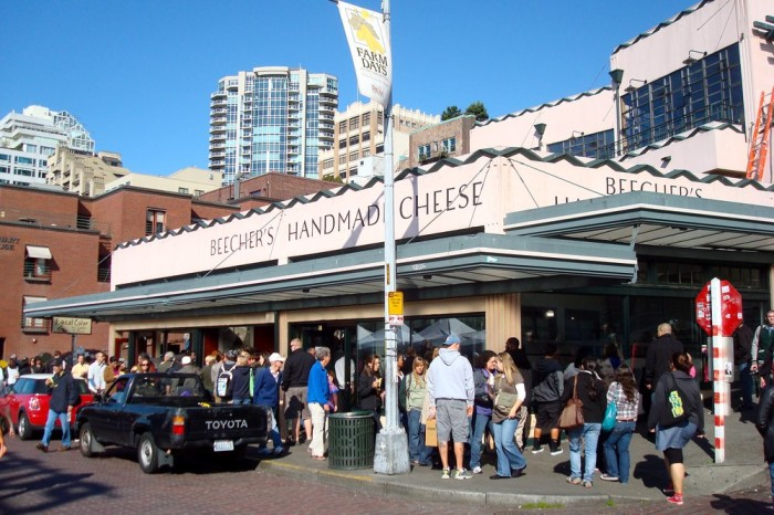 1. A cup of Mac & Cheese from Beechers Cheese, Seattle