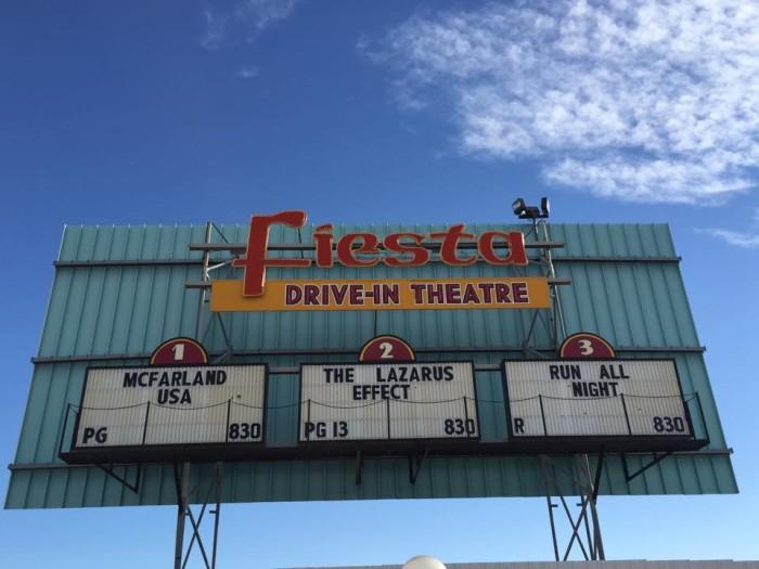 1. Fiesta Drive-In Theater, 401 W. Fiesta Drive, Carlsbad