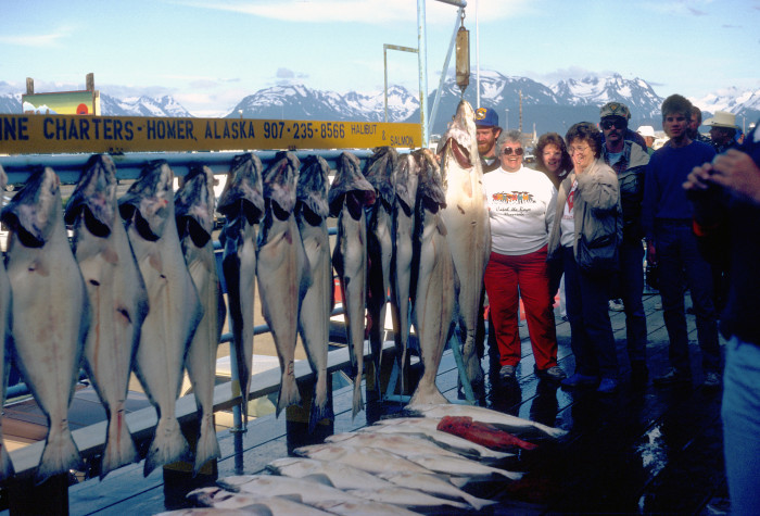 2. Fishing: On the salt or in the freshwater, Alaskans have all their bases covered.