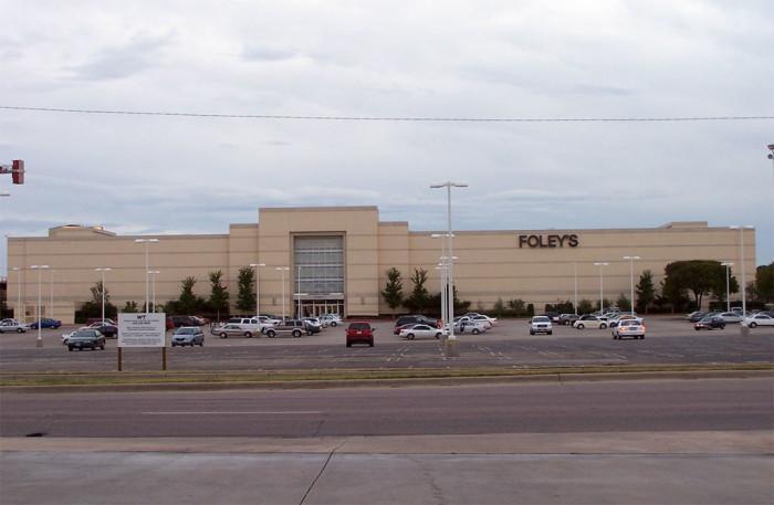 4. Shop at Foley's