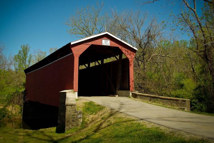 6. Foxcatcher Farms Covered Bridge