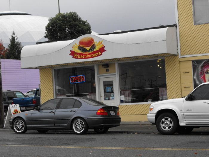 4. The Friesenburger, from Friesenburgers in Tacoma