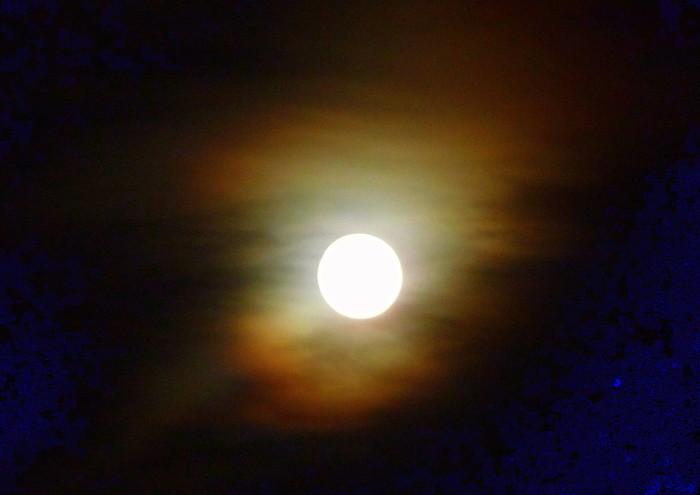 11.  Full moon in Polson.