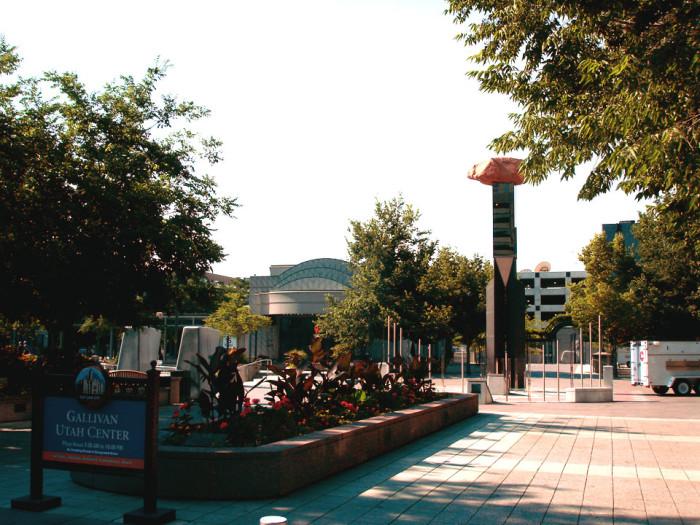 5. Gallivan Center Plaza, Salt Lake City