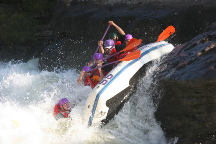 10. Wanting to raft the Gauley River but also being scared out of your mind to do it.