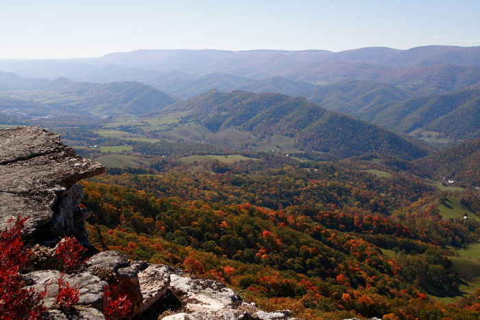 6. Germany Valley North Fork Mountain...wow!