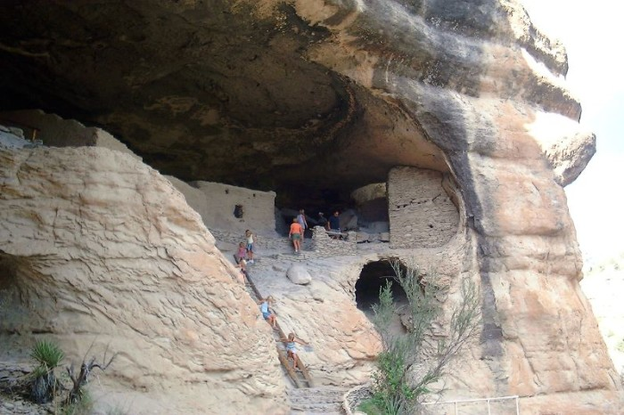 4. Gila Cliff Dwellings National Monument, near Silver City