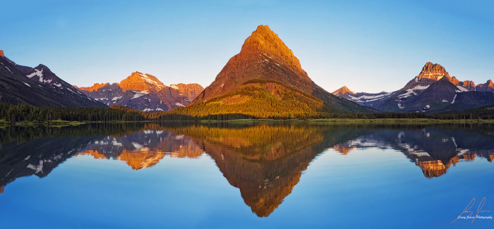 45. Glacier National Park, Montana. There's arguably no place more breathtaking than here. Your road trip would not be complete without it.