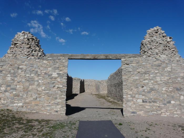 7. Gran Quivira, near Mountainair