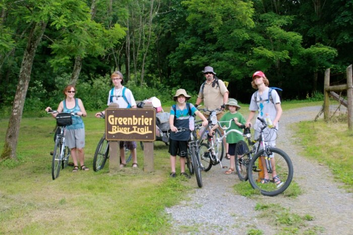 The Greenbrier River Trail